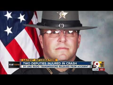 911, radio recordings released in crash that injured 2 Hamilton County  deputies