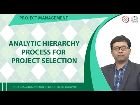 Analytic Hierarchy Process for Project Selection