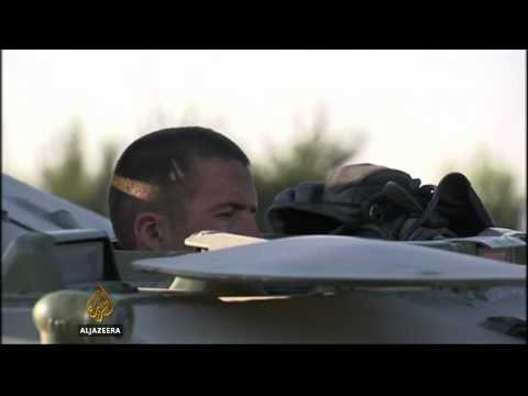 Ukraine 'destroys' Russian military vehicles