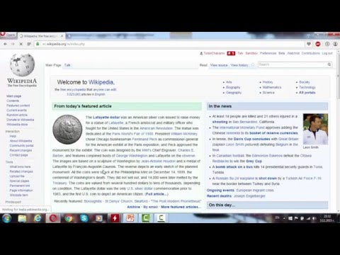 How to make wikipedia article