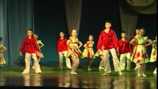"""Концертная программа танцевальных ансамблей """"Антел"""" и """"Жасмин"""".(часть1)."""