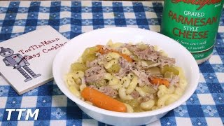 Turkey Noodle SoupCrock Pot Turkey Leg RecipeTurkey Leg Soup in the Slow Cooker