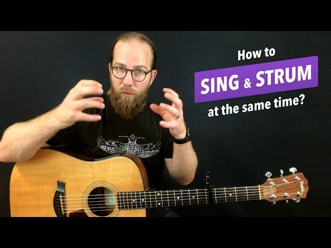 Q&A: How to sing & strum at the same time?