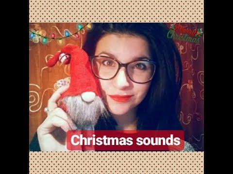 ASMR ITA- Suoni e sussurri natalizi 🎅 (whispering, tapping & some fabric sounds) | Noor