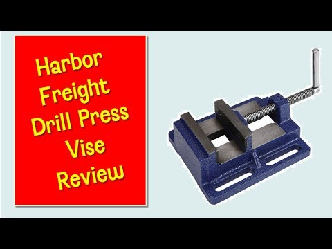 Harbor Freight Drill Press Vise Review