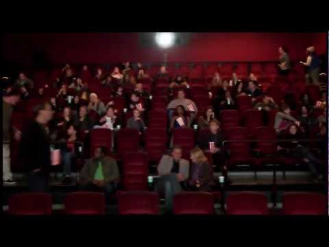 The Woman in Black -- Movie Theater Scare -- HD