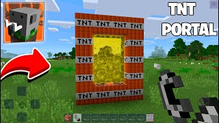 Never Dont LIGHT this TNT PORTAL in Craftsman Building Craft !!!