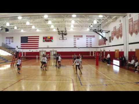 Sleepy Hollow JV Volleyball 9/15/16 Clip 3