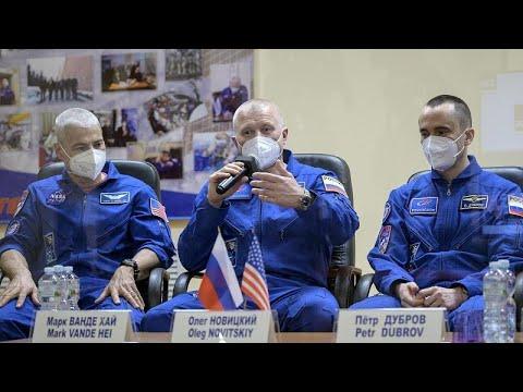 شاهد: صاروخ سويوز يلتحم بمحطة الفضاء الدولية في مهمة تكريمية بذكرى رحلة غاغارين…  - 22:58-2021 / 4 / 9