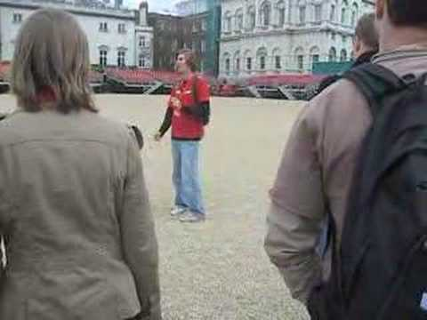 Craig the London walking tour guide 2 - 10 Downing St.