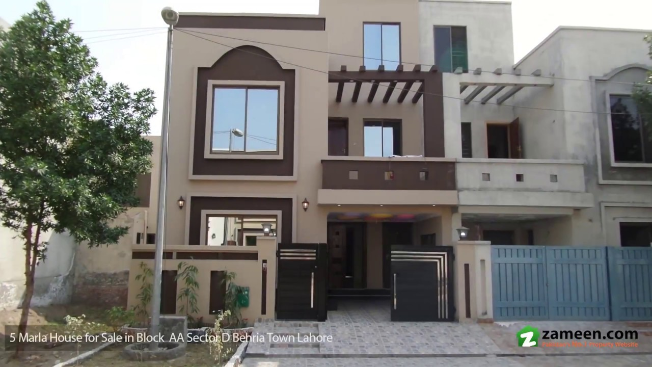 5 marla house is available for sale in bahria town lahore for Home design ideas 5 marla