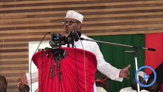Disrupt October elections at your own peril - Hassan Omar