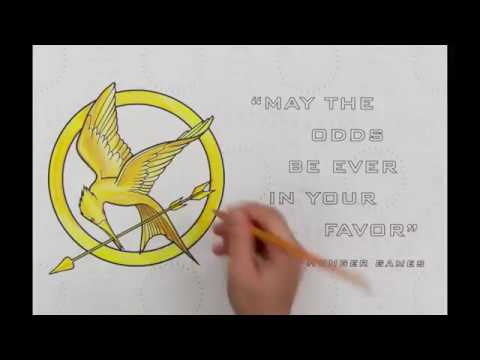 The World Of Hunger Games Official Coloring Book