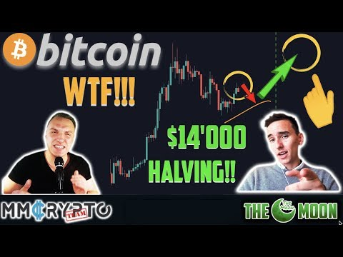 WTF!! BITCOIN DUMP BEFORE INSANE PUMP to $14'000 at HALVING!!! w. The Moon Carl