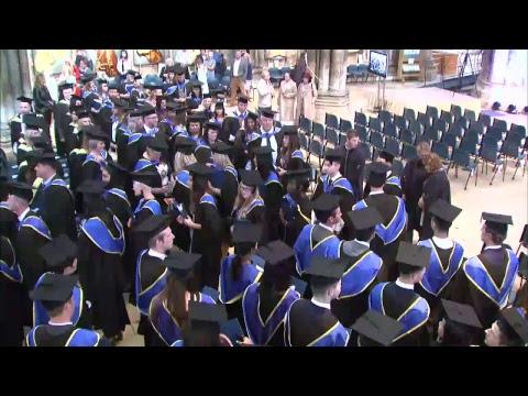 University of Lincoln September Graduation  - 7 September 2017, 10:30am ceremony