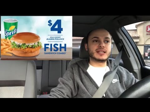 Food Review! ( Jack In The Box ) Fish Sandwich & Tiny Tacos!