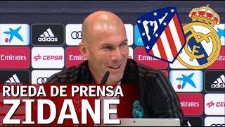 Atlético de Madrid - Real Madrid: Rueda de prensa completa de Zidane | Diario AS