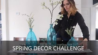 Spring Decorating Home Decor | Decorate with Me Springtime | Spring Centerpiece | DIY Decorations