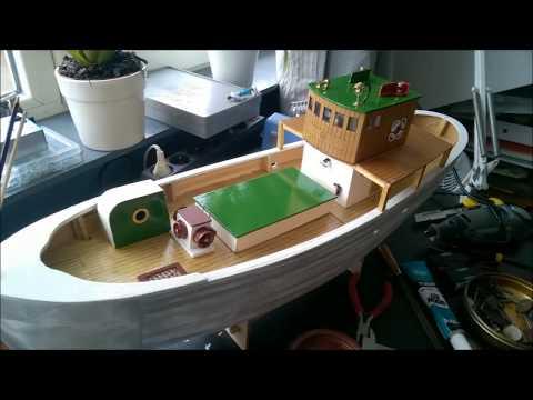 IGRA Model Fishing Boat Artur
