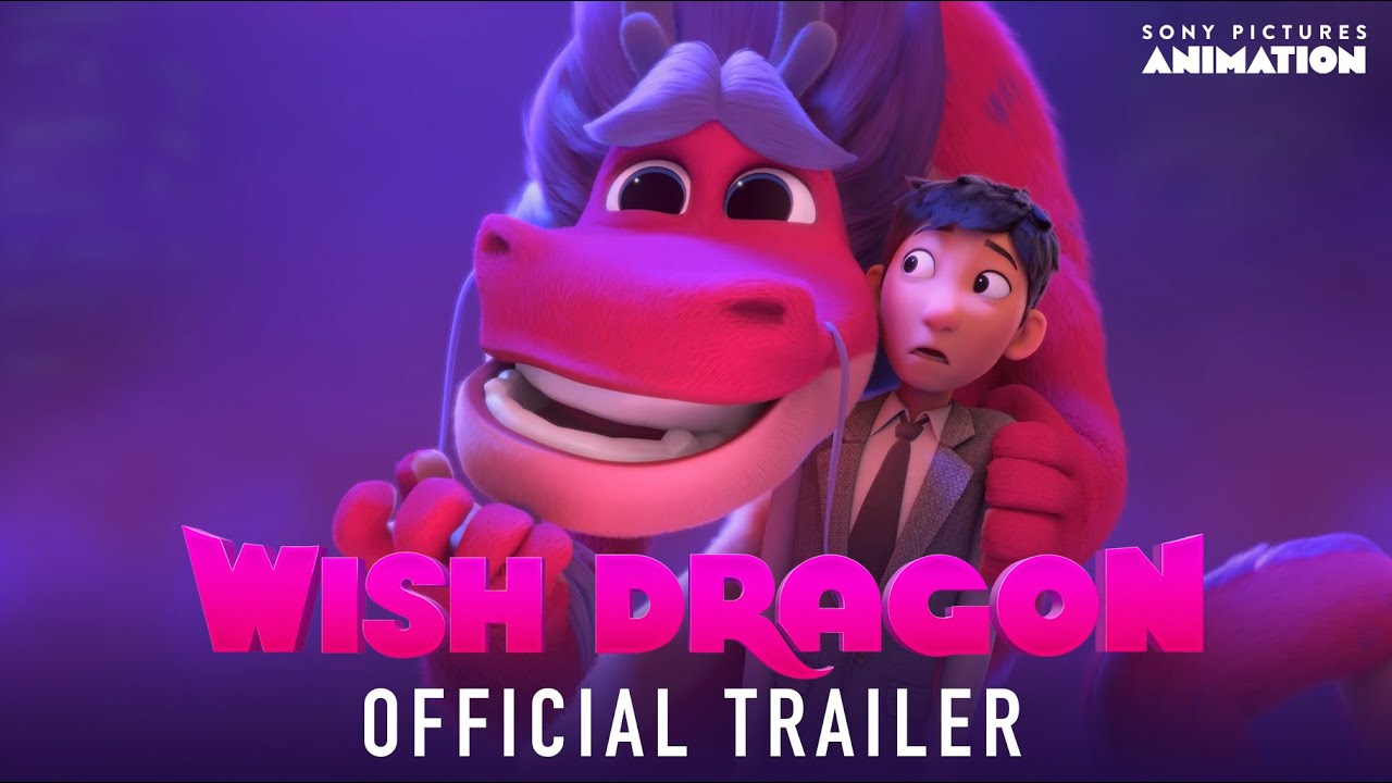 Wish Dragon Official Trailer | Sony Animation