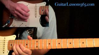 Still Got The Blues Guitar Lesson Pt.3 - Gary Moore - Outro Solo