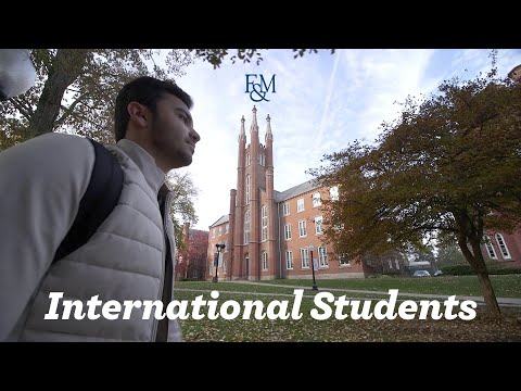 A Day in the Life... of F&M International Students