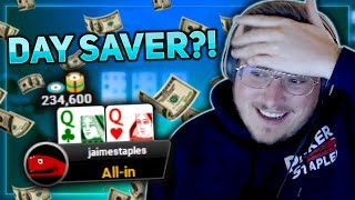 CAN WE SAVE THE DAY?! | PokerStaples Stream Highlights