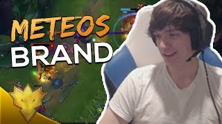 Meteos PLAYS BRAND SUPPORT AND DOESN'T INT FEED! - Meteos Stream Highlights & Funny Moments
