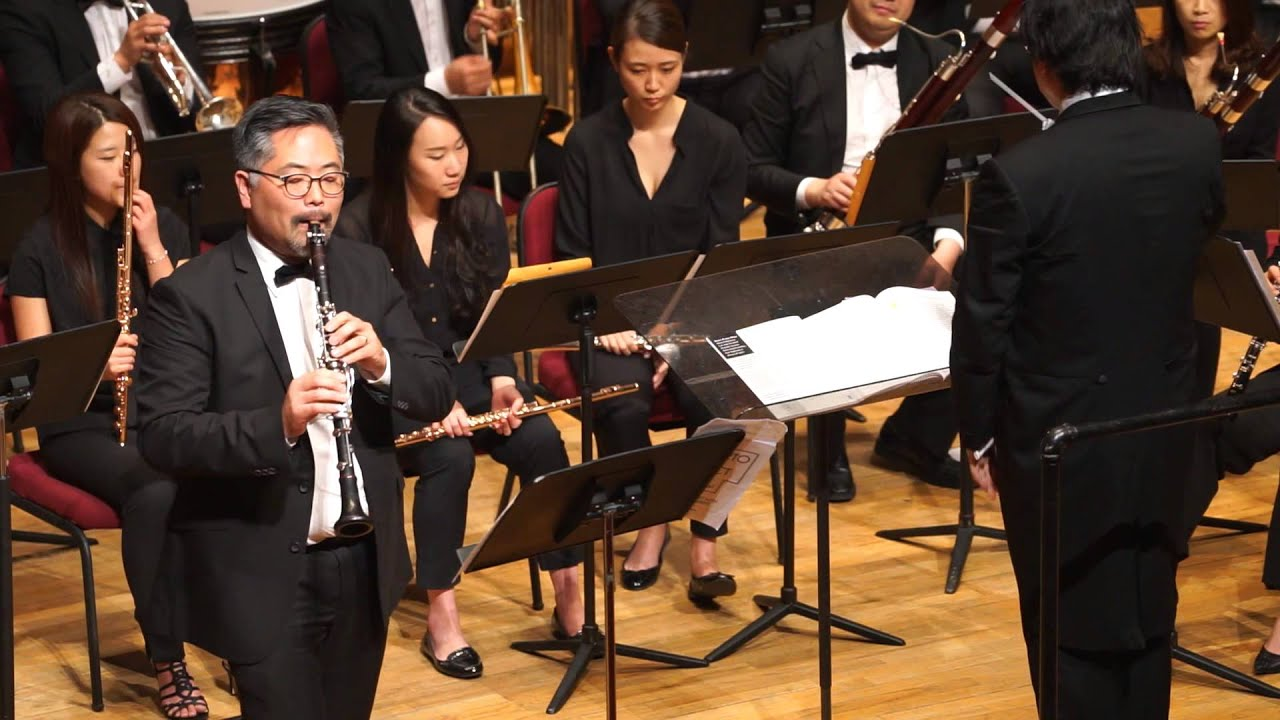 Clarinet solo - Seungho Choi with New York Wind Orchestra