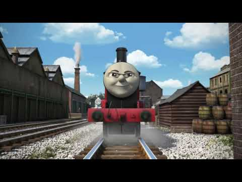 James in a Mess in CGI VERSION.