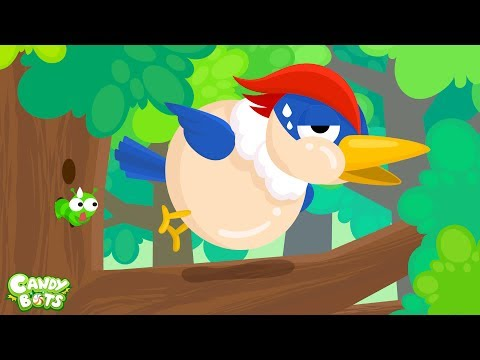 Thumbnail: Candybots Animals for Kids - Learn Sound & Name - Friends in the Forest