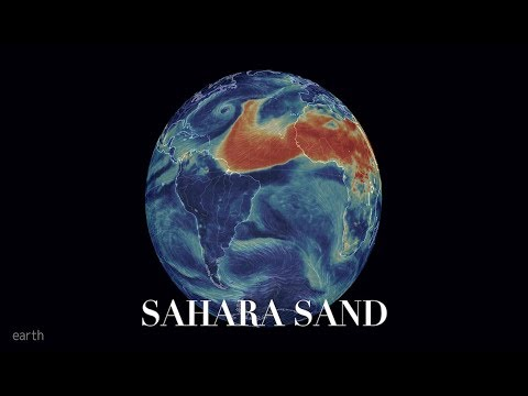 Rapidly forming MAJOR Cyclone *CAT 4* | More Sahara Sand fills Atlantic