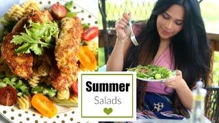 Easy & Delicious Summer Salads! MissLizHeart