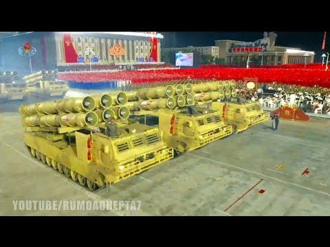 North Korea Military Parade 2020: Best Moments - Parada Militar na Coreia do Norte Melhores momentos