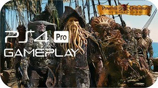 Pirates of the Caribbean: At World's End PS4 PRO Gameplay [PS NOW]