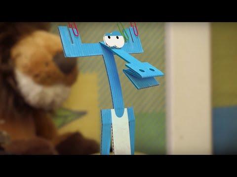Бумажки мультфильм землетрясение