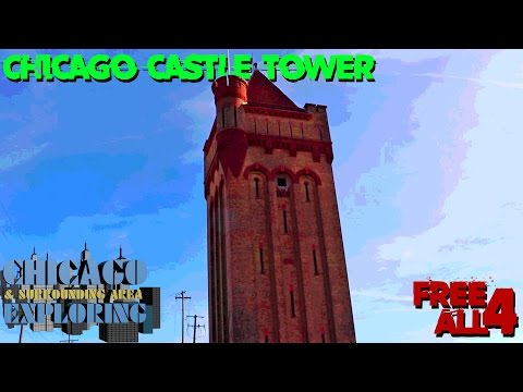 Exploring the Abandoned Chicago Castle Tower (HUGE Spiral Staircase!)