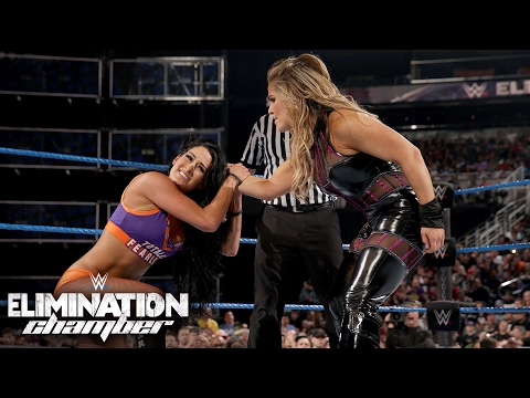 Nikki Bella vs. Natalya: Elimination Chamber 2017 (WWE Network Exclusive)