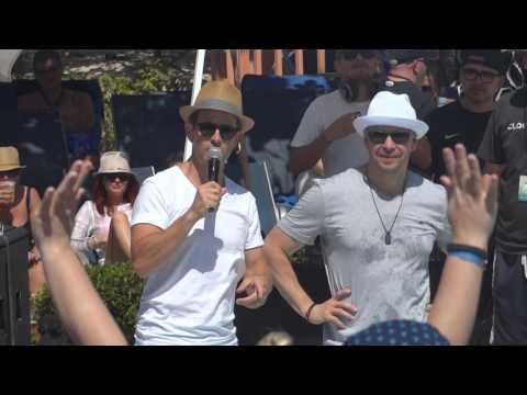 NKOTB CRUISE 2015 - Grand Turk Party at Margaritaville