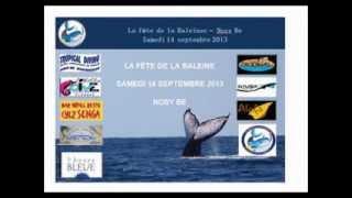 Fête de la Baleine 2013,  Nosy Be - Les BALEINES RANDEAU