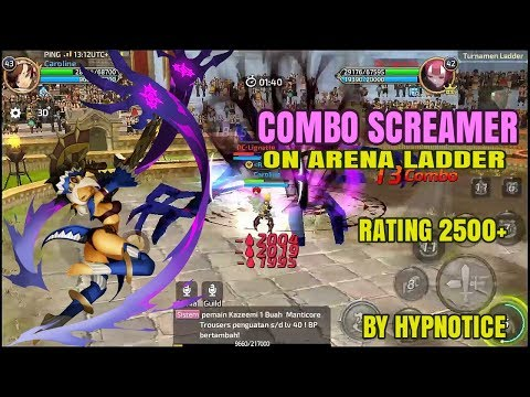 Combo Screamer! Playstyle by Hypnotice, Rating 2500 | Dragon Nest M SEA