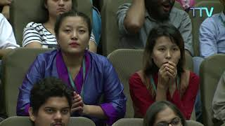 Inauguration of the course on Secular Ethics by His Holiness the Dalai Lama