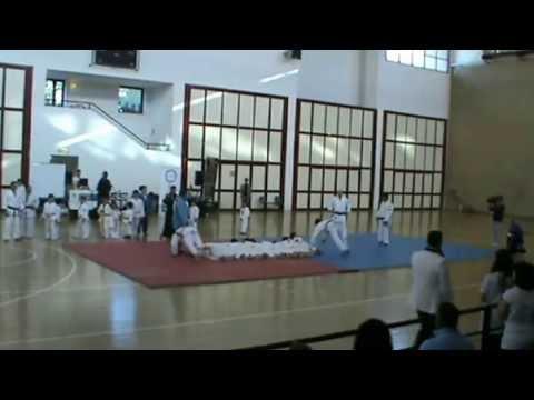 """Esibizione di judo alla manifestazione """"Aggiungi un posto a tavola"""" 2013"""