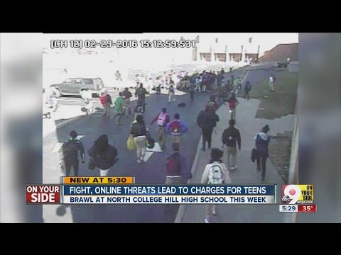 North College Hill High School beefs up security after large fight