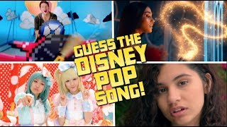 2019 NEW Guess the DISNEY POP Song! (Disney Celebrity Single Releases)