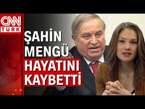 Nevşin Mengü'nün babası eski milletvekili Şahin Mengü, hayatını kaybetti