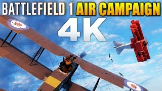 Battlefield 1 Mission 2 | Planes & Air Combat Campaign | 4K 60fps Gameplay