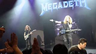 Megadeth - Holy Wars (Outro) Live in Japan 5/19/2017