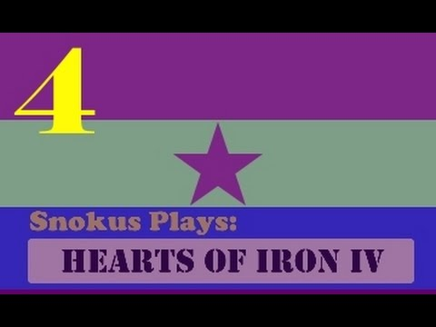 Snokus plays: Hearts of Iron 4 - The second Spanish republic [Part 4]