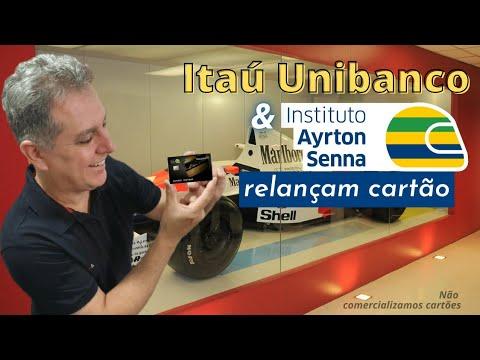 💳Itaú Unibanco e Instituto Ayrton Senna relançam  Cartão Platinum em homenagem ao piloto🚘✔